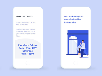 DataPlor | Mobile service manual mobile mobile app app instruction manual presentation uidesign ui  ux uiux design ui illustration graphic design