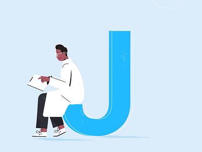 J Stands for Journals swing alphabet letter calendar paper journals motion business digital character branding ui logo technology design vector 2d motion graphics illustration animation