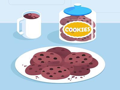 Cookies! tech explainer business digital vector technology tech motion graphics motion illustration explainer design character animation animated explainer 2d