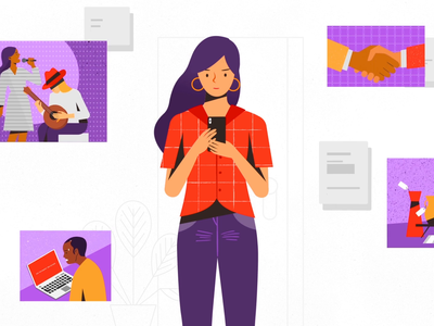 Protected. commercial legaltech app tech explainer video icon ui ux animated explainer business digital character technology design 2d vector illustration motion graphics animation mobile