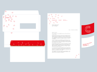 Identity and letterhead designfor circulations festival