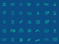 Icon set for Depopass