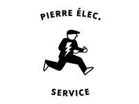 Logo for Pierre Élec. Service