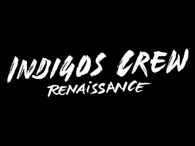 Lettering for Indigos Crew