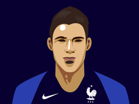 Portrait of Raphaël Varane