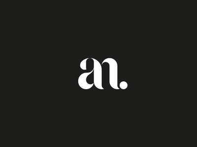 AN for ANother AN monogram