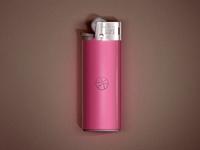 Dribbble Lighter