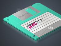 Dribbble Floppy