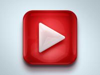 youtube iOS icon