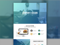 One Hour Challenge: Landing Page