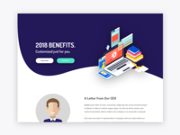 Benefits Page Layout