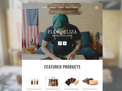 Flordeliza Brand Site