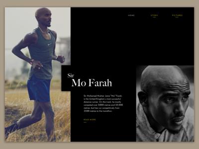 Sir Mo Farah Export