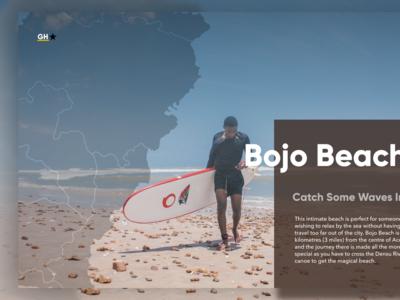 Ghana, Bojo Beach