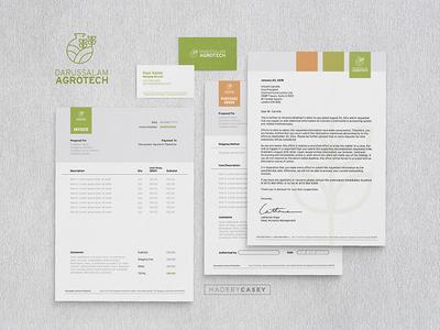 Darussalam Agrotech Plantation - Branding