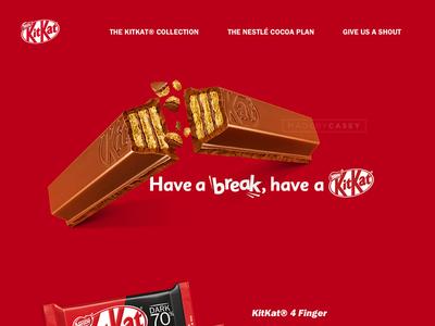 #1 Kit Kat Homepage (Desktop)