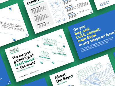 Datel, Global Excel Sum(it) Presentation sumit summit microsoft excel excel isometric design isometric presentation presentation design presentation layout keynote keynote design keynote template google slides slides slide slideshare pitchdeck pitch pitch deck