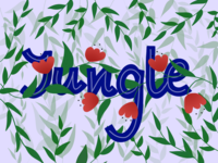 Jungle | Lettering & Illustration
