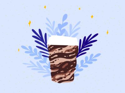 Naked Coffee | Illustration Pro-Bono