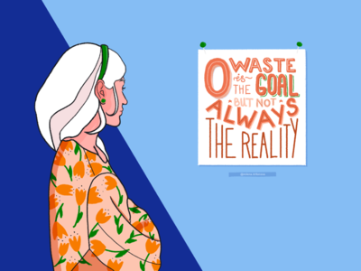 Zero Waste | Illustration & Lettering