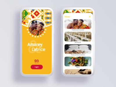 African wedding app