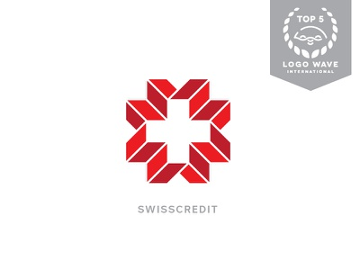 Swiss Credit - Logo Top 5 award competition concept credit bank swiss logo