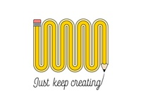 Just Keep Creating