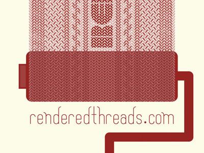 Pigmented Specimen - Crimson renderedthreads poster