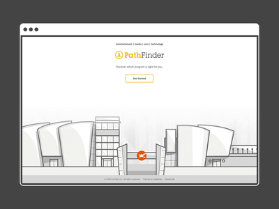 Pathfinder 2.0 Desktop desktop daissydesigns artdirection uxui uxdesign digital branding ux uxdesigner
