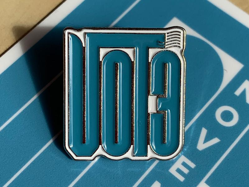 VOTE 2020 - Enamel Pin + Sticker