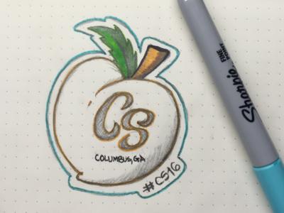 #CS16 Sketch No.1 renderedthreads sketch sharpie