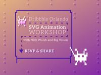 Dribbble Orlando Meetup FEB 17