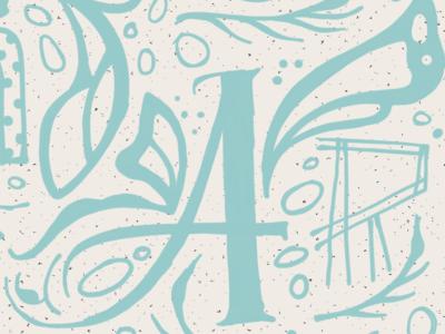 Monarch Butterfly Lettering renderedthreads lettering monarch illustration butterfly