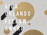 AIGA Orlando Fellow Award Celebration
