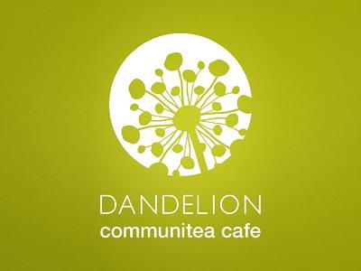 Dandelion Communitea Cafe - Logo Design (1 of 3) renderedthreads logo design branding