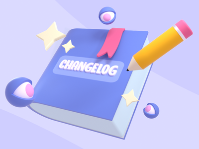 Discord Changelog Header cute gaming discord design octane 3d art c4d 3d cinema 4d