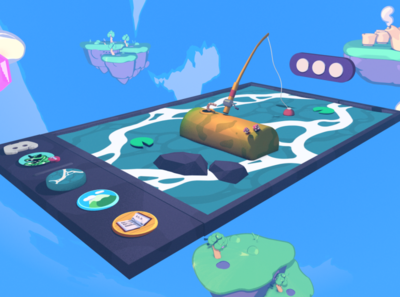 Discord - Your Place To Talk cel toon branding gaming discord illustration design 3d art c4d 3d cinema 4d