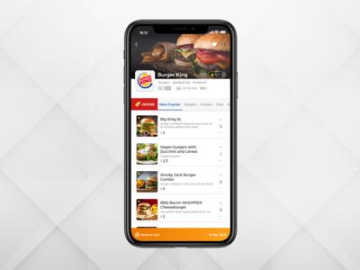 Food Delivery Mobile App [Restaurant Screen] 🍔