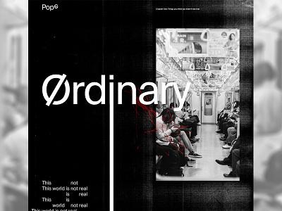 Pop6 editorial grid type web design clean minimal design layout typography