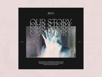 Story Page serif editorial grid type web design clean minimal design layout typography