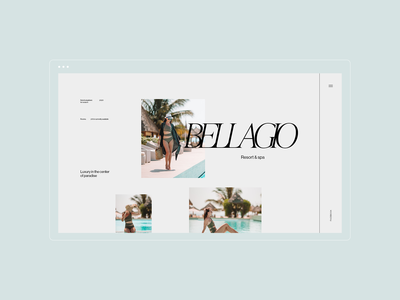 BELLAGIO HOTEL - resort&spa website hotels light ecommerce booking room booking serif homepage minimal branding front page landing page ux ui wordpress webdesign website italy spa resort hotel