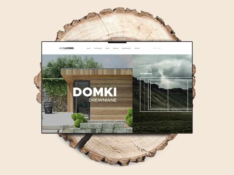 Wooden houses website
