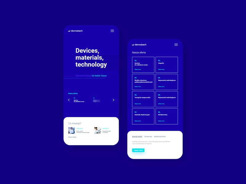 Nanotechnology company - mobile
