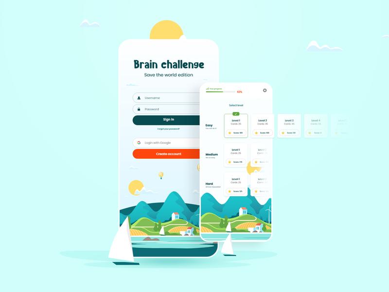 Memory game app