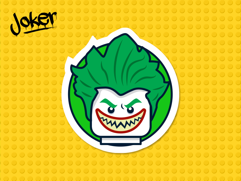 Batman Lego Joker By Martin Moreno Amador Dribbble