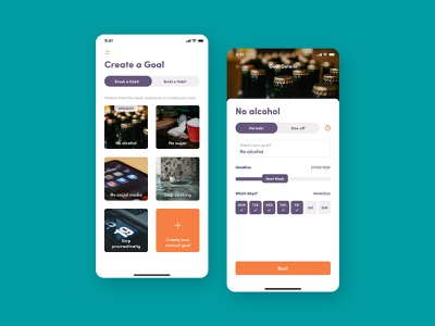 Habit Cycle goal ios app habit