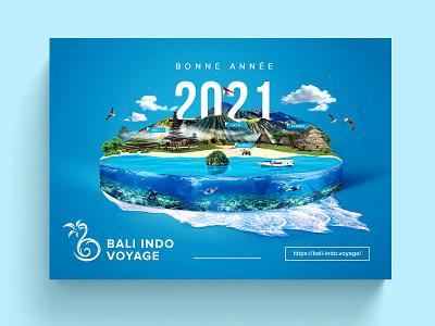 postcard 2021 indonesia vacation design postcardproject digital imaging