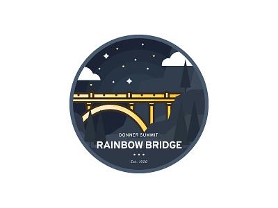 Rainbow Bridge 7daystocreate badge bridge donner