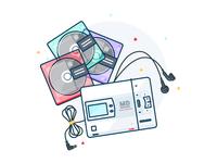 MiniDisc Player