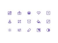 Basic icons for iOS app